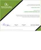 Corzan NGBS Green Certificate